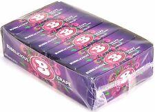 Bubblicious Grape Bubble Gum Candy Bulk 1 Box of 18 Count Five Piece Packs