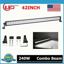 42inch 240W Philips Combo LED Light Bar Off-road Lamp SUV ATV Truck /120W/300W
