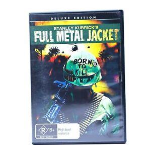 Full Metal Jacket Deluxe Edition Stanley Kubrick 2007 DVD R4 GC