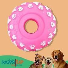 Paws UP Rubber Bones Prints Tire Squeaky Squeaker Dog Chew Toy
