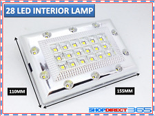 Bright White 28 LED Car Van Vehicle Roof Ceiling Interior Light Lamp 12V (19-18)