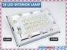 Bright White 28 LED Car Van Vehicle Roof Ceiling Interior Light Lamp 12V (19-18)