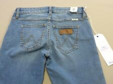 068 Mens Wrangler Stix Str8 Fit Indigo Stretch Denim Jeans Sze 34 .