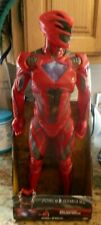 "Saban Power Rangers Movie Figure 20"" Big-Figs Red Ranger Rouge 2017 Jakks New"