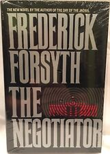 *BRAND NEW, SEALED* The Negotiator by Frederick Forsyth (1989, HC) FREE S&H