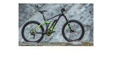 BULLS Six50 E FS3 E-Bike Bosch Performance, Schwarz Grün