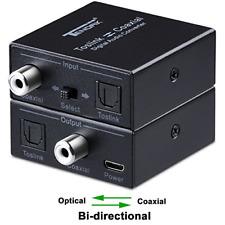 Optical to Coax, Tendak Optical SPDIF Toslink to Coaxial and Coaxial to Optical