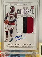 Montrezl Harrell 2015 National Treasures RPA /99 Rookie Auto 3 Color Patch