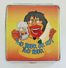 Vint '90s TO BEER OR NOT TO BEER Cigarette Case Stash Box