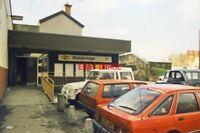 PHOTO  1989 STALYBRIDGE RAILWAY STATION ENTRANCE 1989 UNPREPOSSESSING TO SAY THE