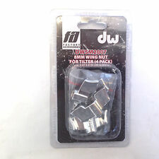 DW Accessories : 8mm Wing Nut For Cymbal Tilter 4pack