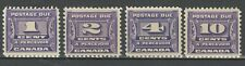 Canada 1930 - Porto - postage due set ☀ MLH stamps