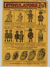 1926 PAPER AD Baby Doll Mama Dolls Crying Voice New Born Basket Sleeping Eye