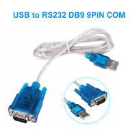USB à 9 broches Câble série RS232 COM Port Adaptateur convertisseur 2.0 WIN 7/8