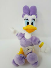 """7"""" OFFICIAL DISNEY STORE BEAN BAG MICKEY & FRIENDS DAISY DUCK SOFT TOY PLUSH"""