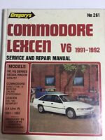 Gregorys Holden Commodore LEXCEN V6 Series 1991-1992 Service and Repair Manual