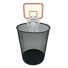 Office Basketball Hoop Clip for Trash Can Fun Game, Small Basketball Board