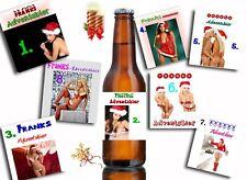 🎄 24x Bieretiketten als Adventskalender: sexy oder traditionell ✨