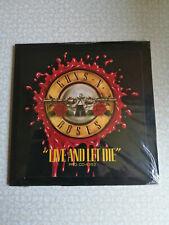 guns n roses - live and let die - cd single promo 1 track - sealed