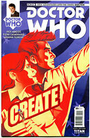 DOCTOR WHO #5 A, NM, 10th, Tardis, 2014, Titan, 1st, more DW in store, Sci-fi