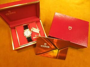 TUDOR BY ROLEX Le ROYER 15010 QUARTZ BOX AND PAPERS