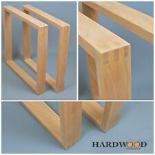 Set of Solid Wood Table Legs Bench Coffee Table
