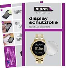6x Fossil Q Venture Schutzfolie klar Displayschutzfolie Folie dipos