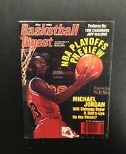 Vintage Original Michael Jordan Basketball Digest May 1990 Magazine Newsstand NL