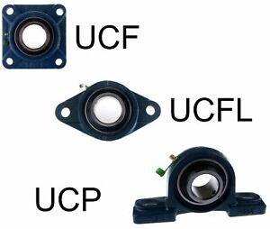 Gehäuselager Stehlager Flanschlager UCP UCF UCFL 202 - 218 diverse Größen