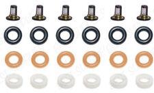 V6 Fuel Injector Service Repair Kit Filters O-rings Seals for Acura & Honda