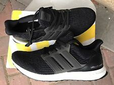 Size 10 Adidas Ultra Boost 3.0 Core Black BA8842.  Fast Shipping