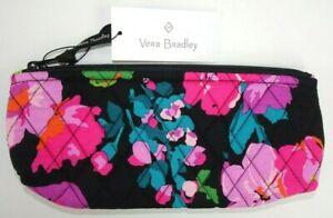 NWT Vera Bradley Brush and Pencil Cosmetic Case HILO MEADOW Organizer &