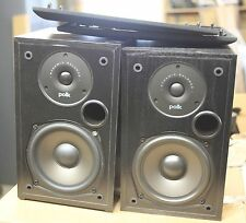 "Polk Audio - 5-1/4"" Bookshelf Speakers - Pair - Black, nice"