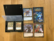 WORLD OF WARCRAFT Trading Card Games  HEROS OF AZEROTH BLIZZARD Starter Deck
