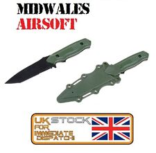 Soft Rubber Plastic Nimravus Tanto Knife Blade Green Dummy Airsoft TOP SELLER