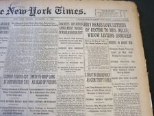 1926 NOVEMBER 14 NEW YORK TIMES - JURY HEARS LOVE LETTERS OF RECTOR - NT 6526