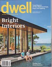 DWELL Magazine March 2014 Bright Interiors.