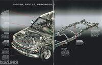 Lrg. 1999 Chevy SILVERADO PickUp Truck Brochure/Catalog:LS, LT,1500,2500,4x4