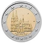 2 euro commémorative Allemagne  2011 - les 5 ateliers