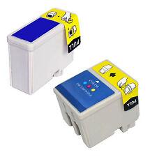WET040K 2 CARTUCCE Nero+Colori COMPATIBILI x  Epson Stylus CX 3200  C 62