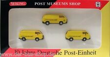 VW Bus T3 - Wiking Set 1:87 - 10 Jahre Post-Einheit - limitierte Sonderedition