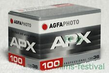 3 rolls AGFA APX 100 35mm Black and White Film 135-36 B&W FREESHIP