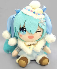NEW Taito Hatsune Miku Plush Doll Winter Stuffed Plush 18cm TAI40000 US Seller