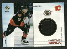 JAROME IGINLA 01 PACIFIC PRIVATE STOCK GAME USED JERSEY CALGARY FLAMES