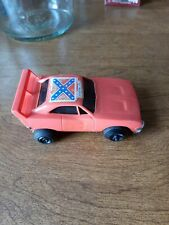 DUKES OF HAZZARD GENERAL LEE PLASTIC CAR WARNER BROS 1980 DODGE CHARGER TOY