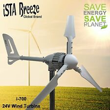 700W 24V i-700 WINDGENERATOR, iSTA-BREEZE® WINDKRAFTANLAGE,WIND TURBINE White