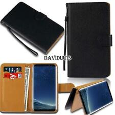 Leather Smart Stand Wallet Case Cover For Samsung Galaxy S S2 S3 S4 S5