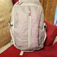 Hard To Find Doterra Backpack Light Gray & Lavender Accents Tons of Pockets!