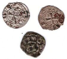 Lot von 3 mittelalterlichen Denaren -> Raum Italien ? sehr interessant