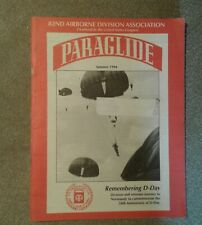 PARAGLIDE 82nd Airborne Division Rembering D-Day 50th ANNIVERSARY Summer 1994
